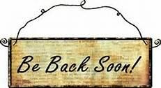 back soon2